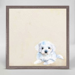 Greenbox Shih Tzu Puppy Wall Art