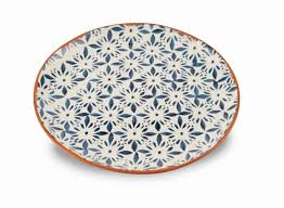 Mud Pie Bungalow Tile Platter
