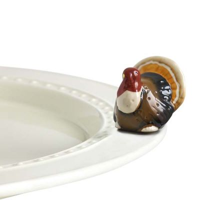 Nora Fleming Turkey Mini - Gobble, Gobble