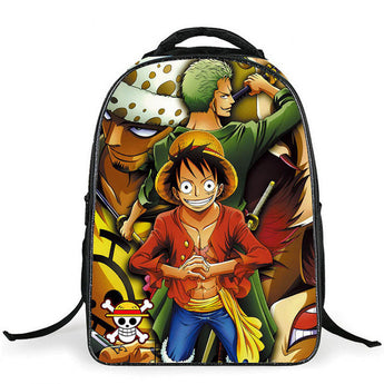 2017  One Piece Luffy&Zoro BackPack