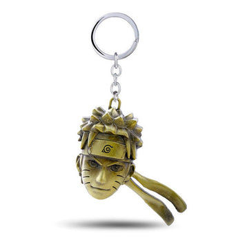 Naruto Gold Head keychain