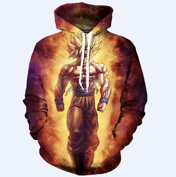 Dragon Ball Super 3D Hoodie Son Goku