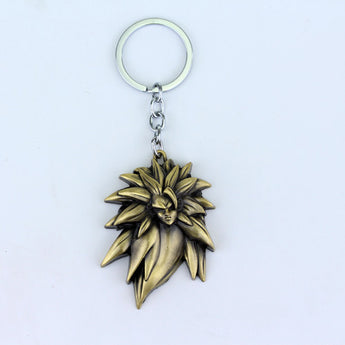 Dragon Ball Son Goku Saiyan 3  KeyChain