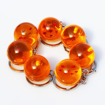 Dragon Ball Z 7-Balls KeyChain