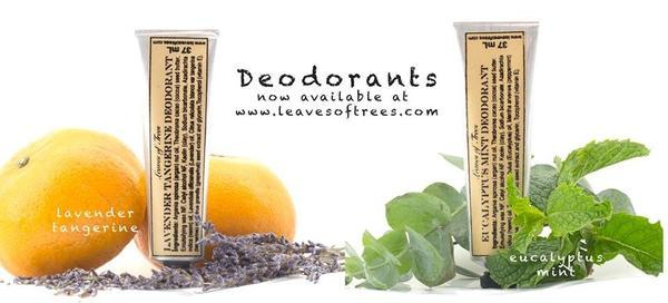 Check out Leaves of Trees ***NEW*** Deodorant
