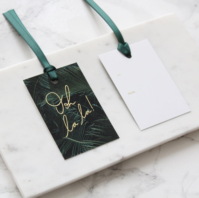 luxury gift tags