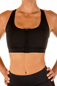 Kinsey Sports Bra ~ Midnight