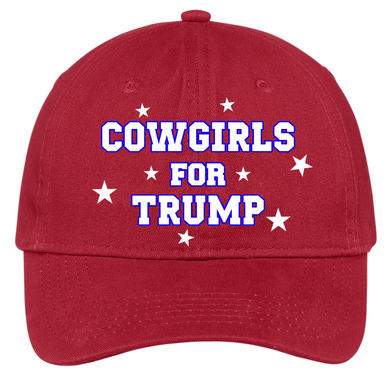 Cowgirls For Trump Hat