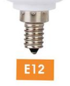 LED Flame Effect Flickering Fire Light Bulb with Gravity Sensor Candelabra Base E12