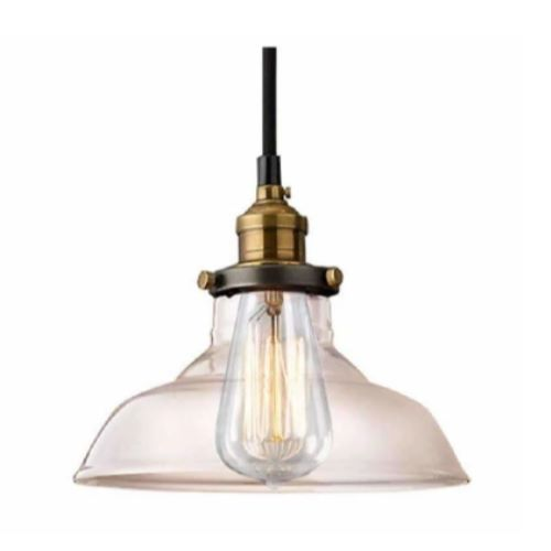 Leanne 1-light Adjustable Height Edison Lamp with Bulb