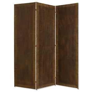 "1"" x 65"" x 72"" Bronze, Wood, Forger - Screen"