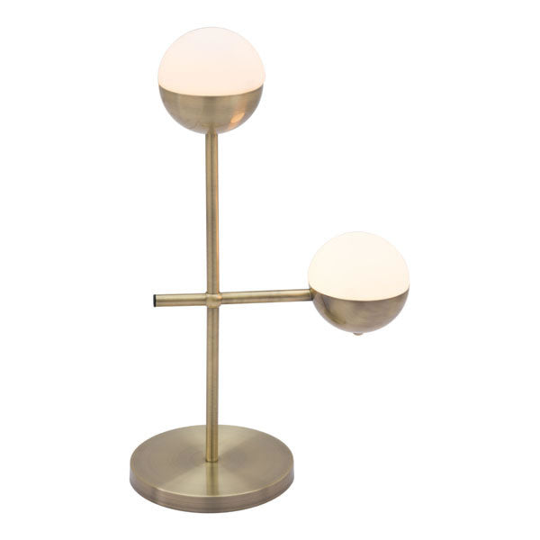 "13.8"" X 6.7"" X 22"" Metal With Round Base Table Lamp"