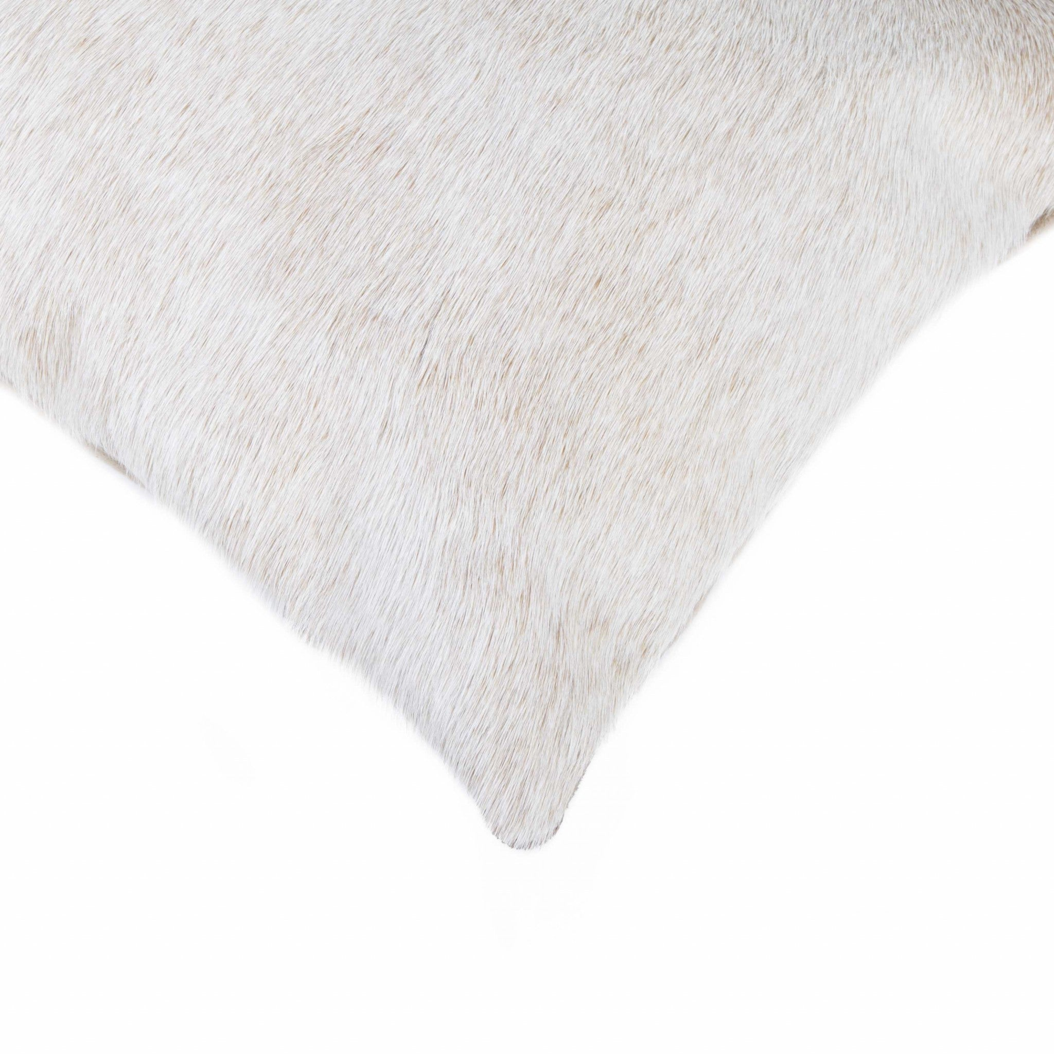 "12"" x 20"" x 5"" Natural Cowhide - Pillow"