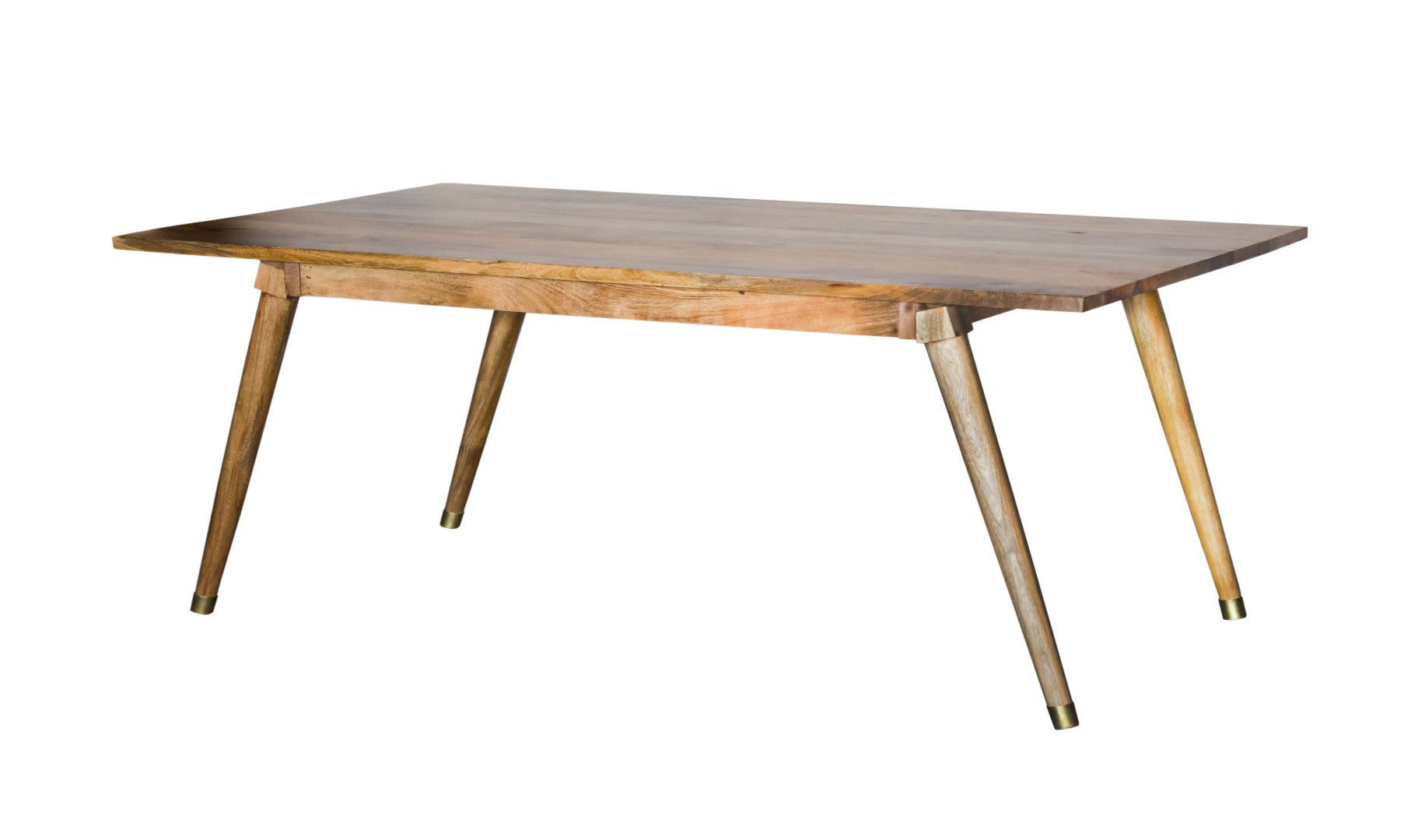 "38"" X 72"" X 30"" Honey Wood Dining Table Large"