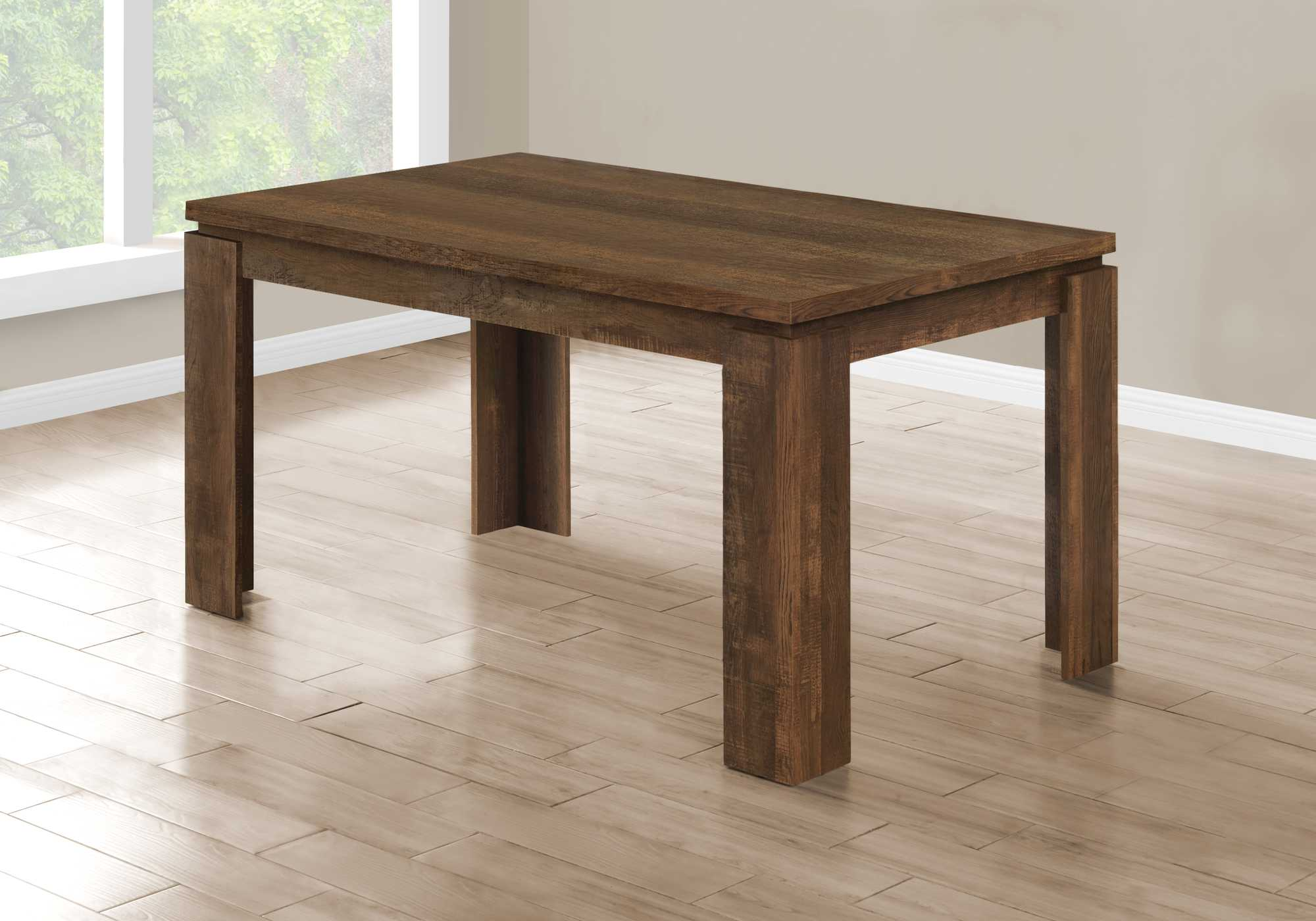 "35'.5"" x 59"" x 30'.5"" Brown, Reclaimed Wood Look - Dining Table"