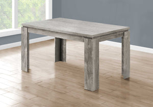 "35'.5"" x 59"" x 30'.5"" Grey, Reclaimed Wood Look - Dining Table"
