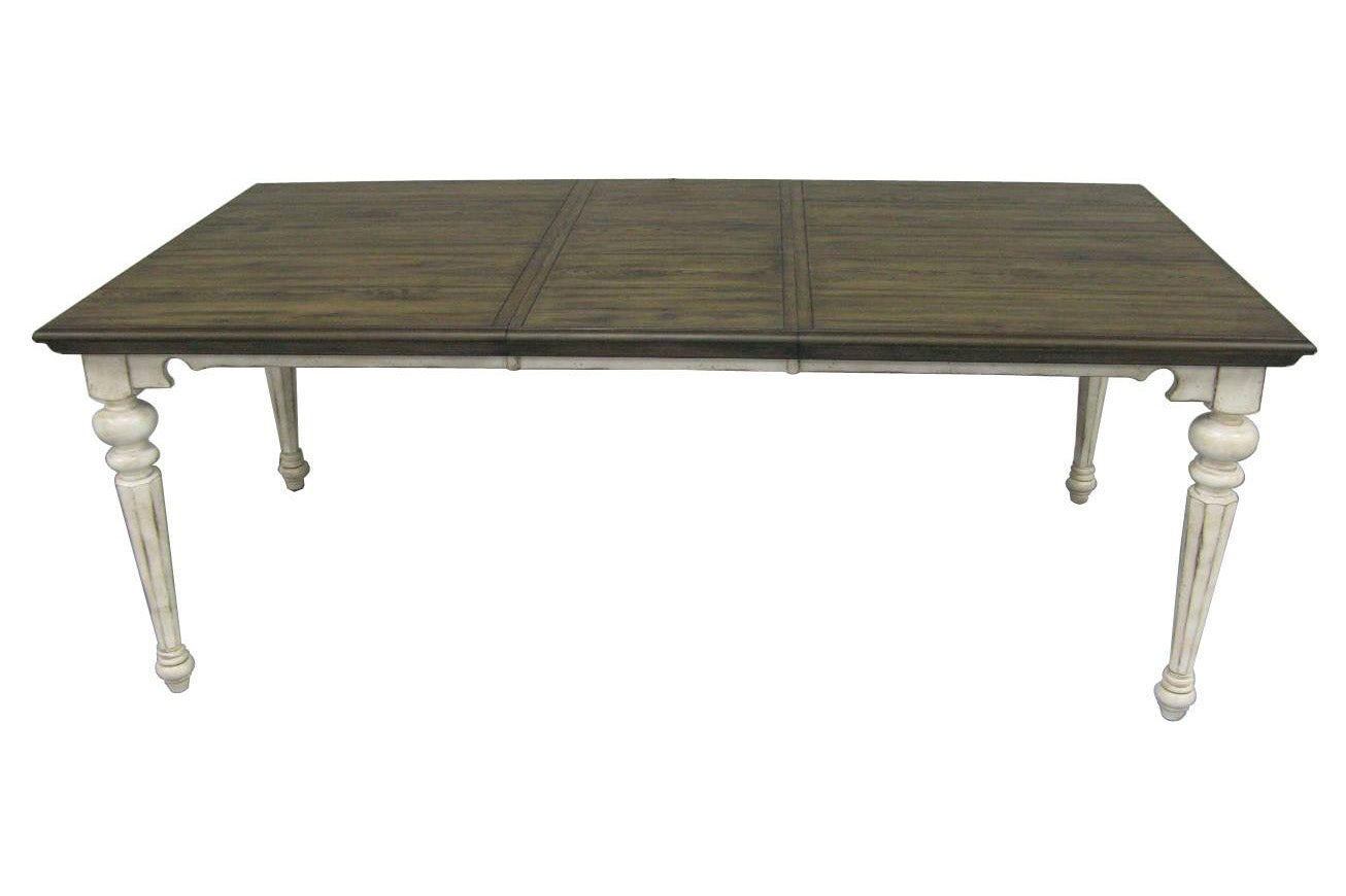 "64"" X 42"" X 82"" Vintage Estates Hardwood Dining Table"