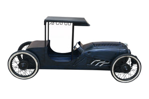 "27.5"" X 83"" X 40.5"" Blue Hot Rod Car Bar"