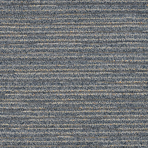 10'x13' Denim Blue Machine Woven UV Treated Abstract Lines Indoor Outdoor Area Rug