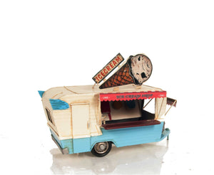 Ice Cream Trailer Metal Model