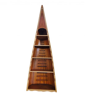 Red Cedar Canoe Book Shelf