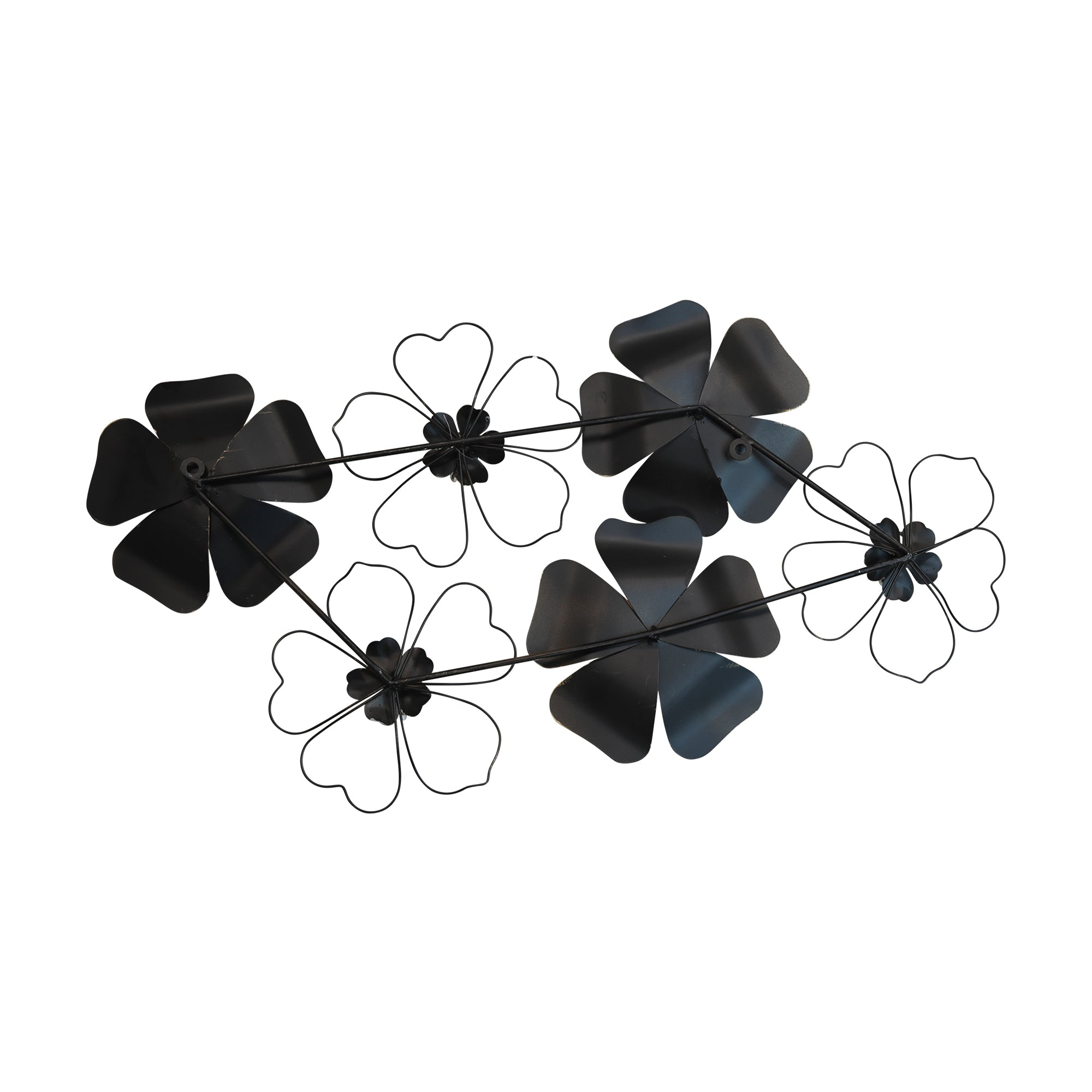3D-Layered Flower Wall Art with Matte Finish