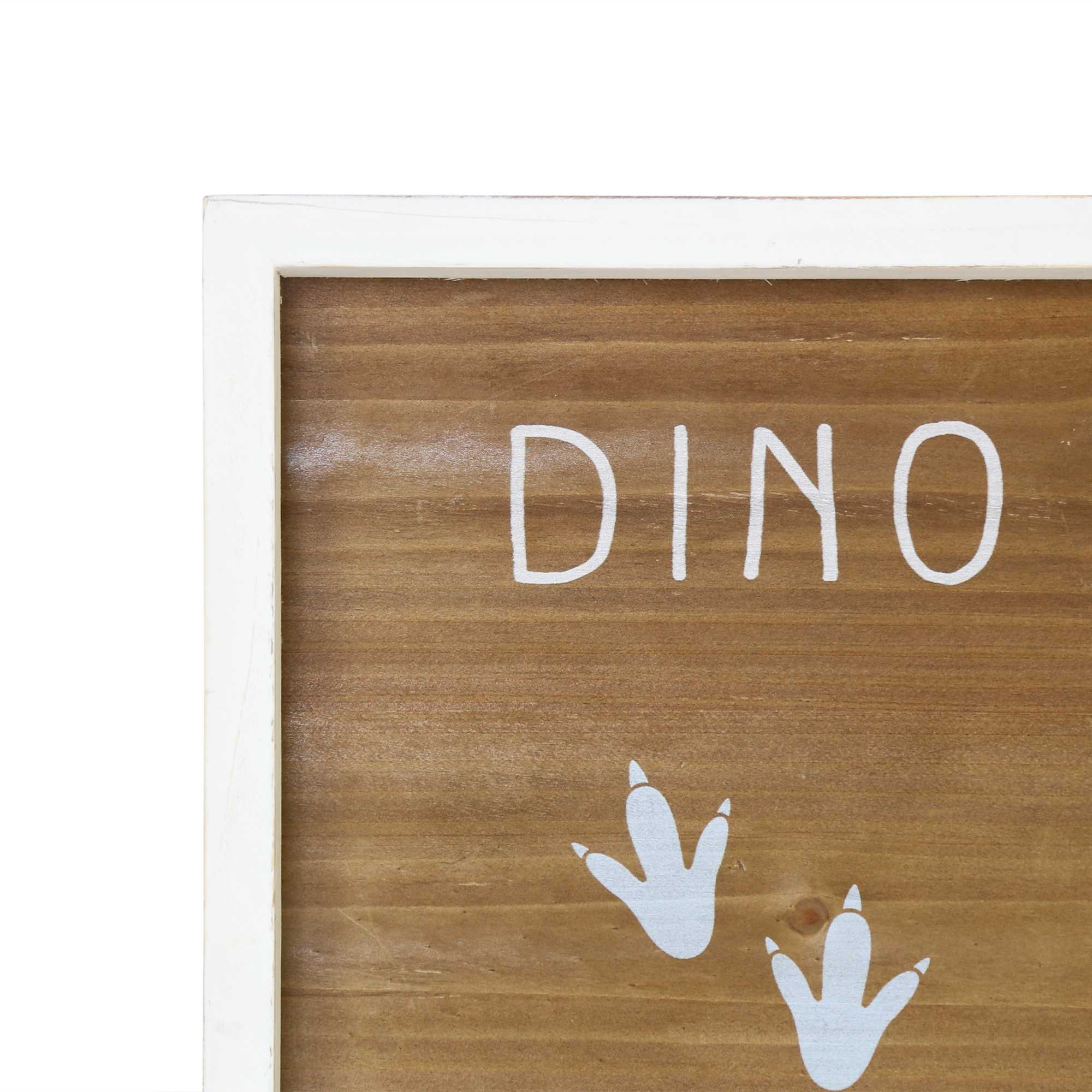 "16"" X 20"" Dino Tracks  Framed Wall Art"
