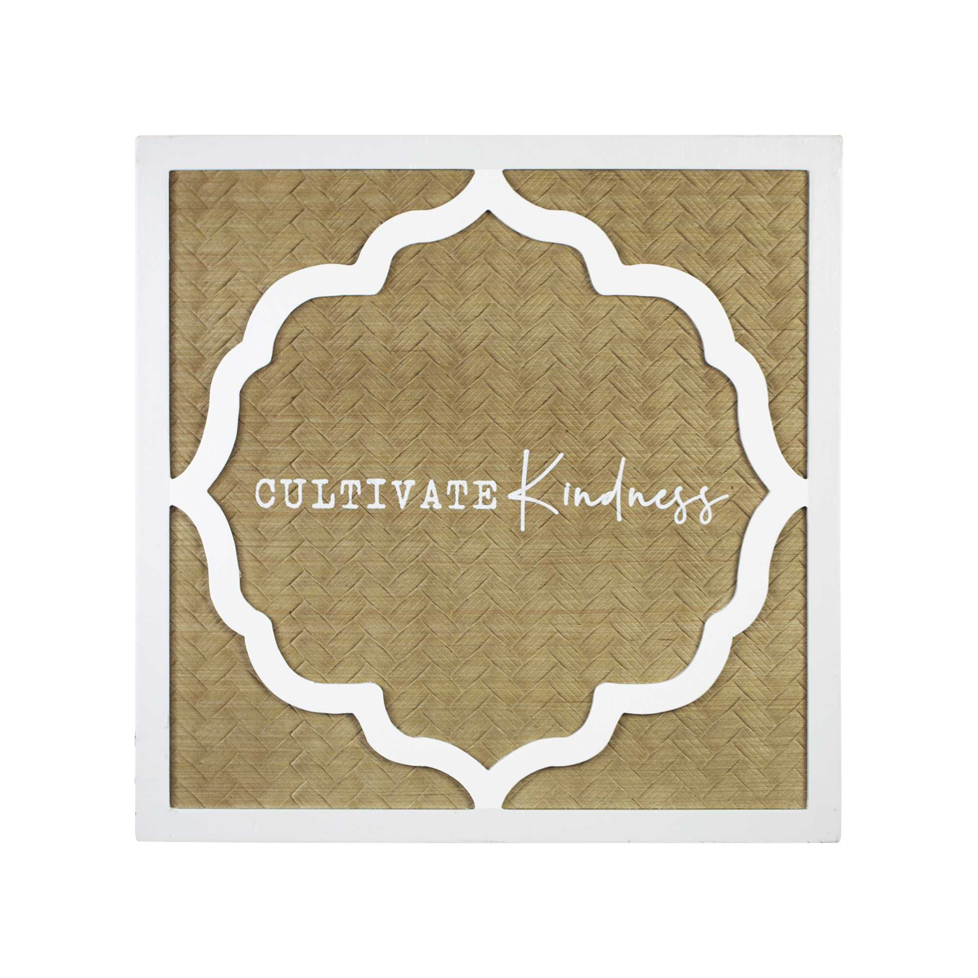 "16"" X 16"" 'Cultivate Kindness"" Framed Wall Art"