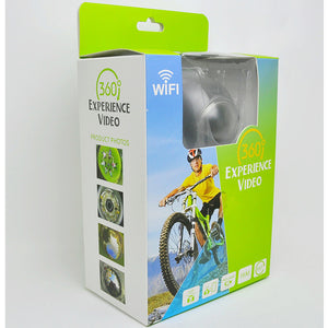360 Panoramic Action Camera Ultra HD Wifi Mini Waterproof - Gadgets - 99fab.com