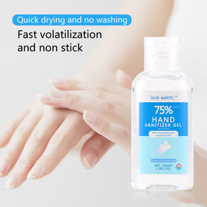 BLUE SAFETY™ 55ml Instant Hand Sanitizer Gel Antibacterial Quick-Dry - hand sanitizer - 99fab.com