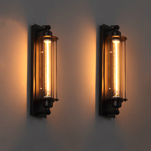Loft Vintage American Industrial Wall Light Edison Light Wall Fixtures - wall lamp - 99fab.com