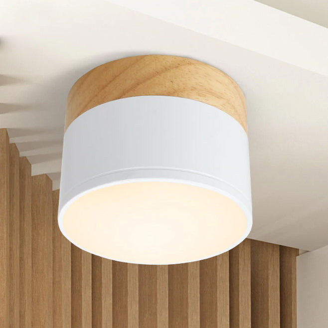 LED ceiling wooden spot light for ceiling lamps Lighting Fixtures