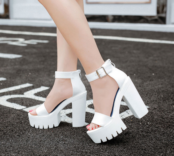 Thick Heels Casual Sandals