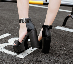Thick Heels Casual Sandals - women shoes - 99fab.com
