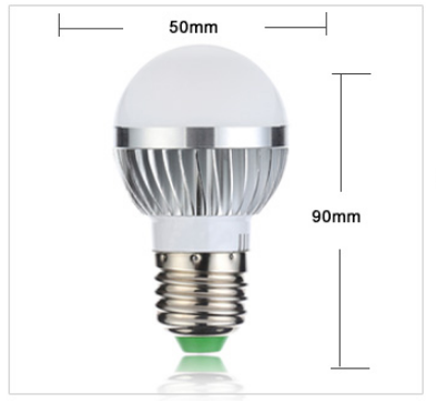 High Brightness Warm/Cold White Lampada E27 5W LED Lamp - led light - 99fab.com