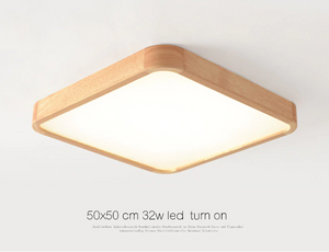 Wooden LED ceiling lighting for the living room chandeliers hall lamp - ceiling lamp - 99fab.com