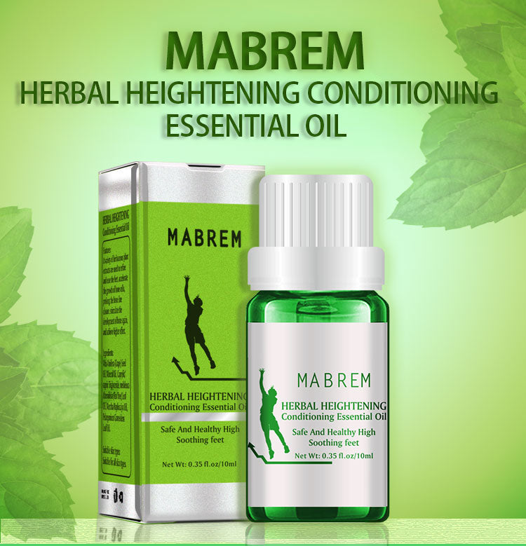 MABREM Height Increasing Herbal Essential Oil - herbal - 99fab.com