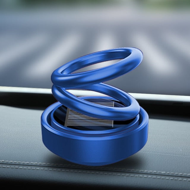 Car Double Loop Rotary Suspension Dashboard Perfume Air Freshener