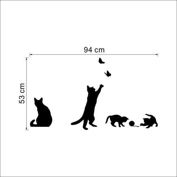 DIY Staircase Cats Wall sticker - wall sticker - 99fab.com