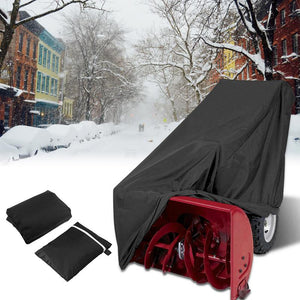 Windproof Snow 300D Durable Polyester Fabric Snow Cover - Snow Blowers Cover - 99fab.com