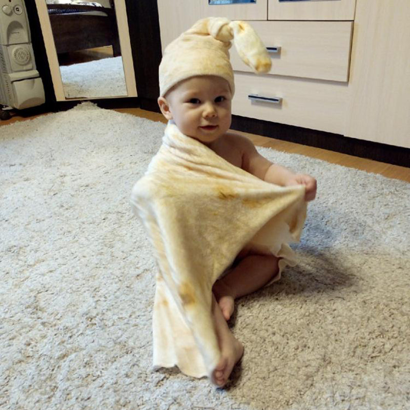 High Quality Burrito Baby Blanket - Baby Blanket - 99fab.com