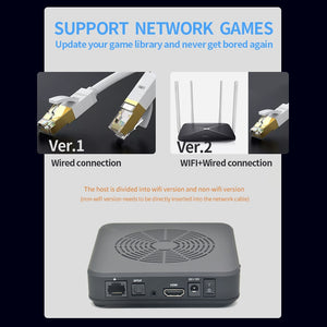 Portable WIFI Video Game Console HDMI Output Built-in 3000+ Retro Games 100 3D Games