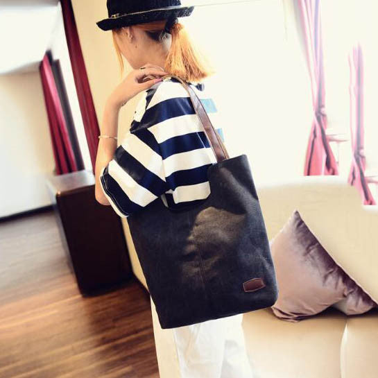 Women's high quality canvas shoulder handbags - women bags - 99fab.com