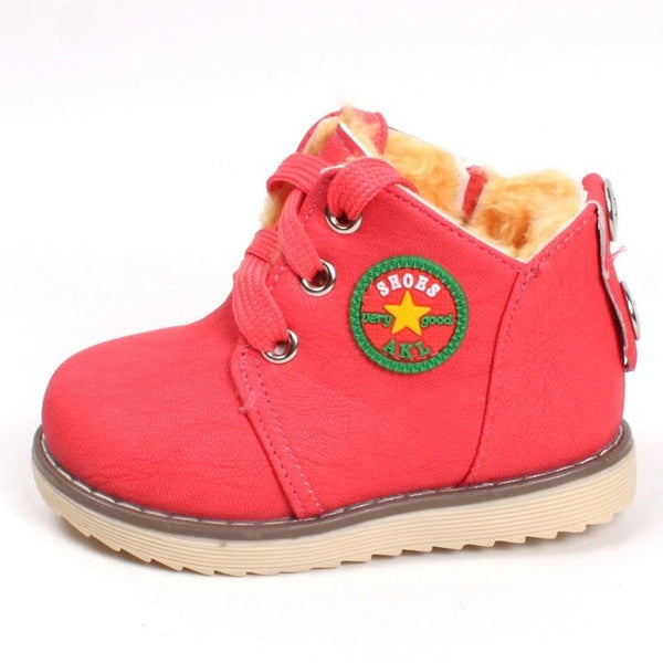 Hot sale children's winter shoes thick keep warm cotton-padded boots - kids - 99fab.com