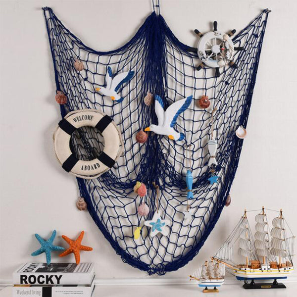 Mediterranean Style Creative Crafts Starfish Rudder Shells - decor - 99fab.com