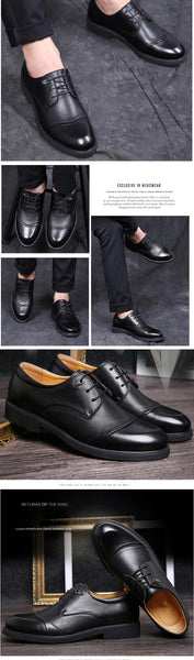 Soft Pointed Toe Classic Fashion Business Oxford Shoes For Men Loafers 2017 - women shoes - 99fab.com