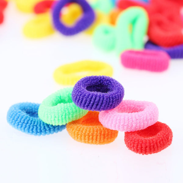 200 Pcs Colorful Cute Rubber Hair Band - Accessories - 99fab.com