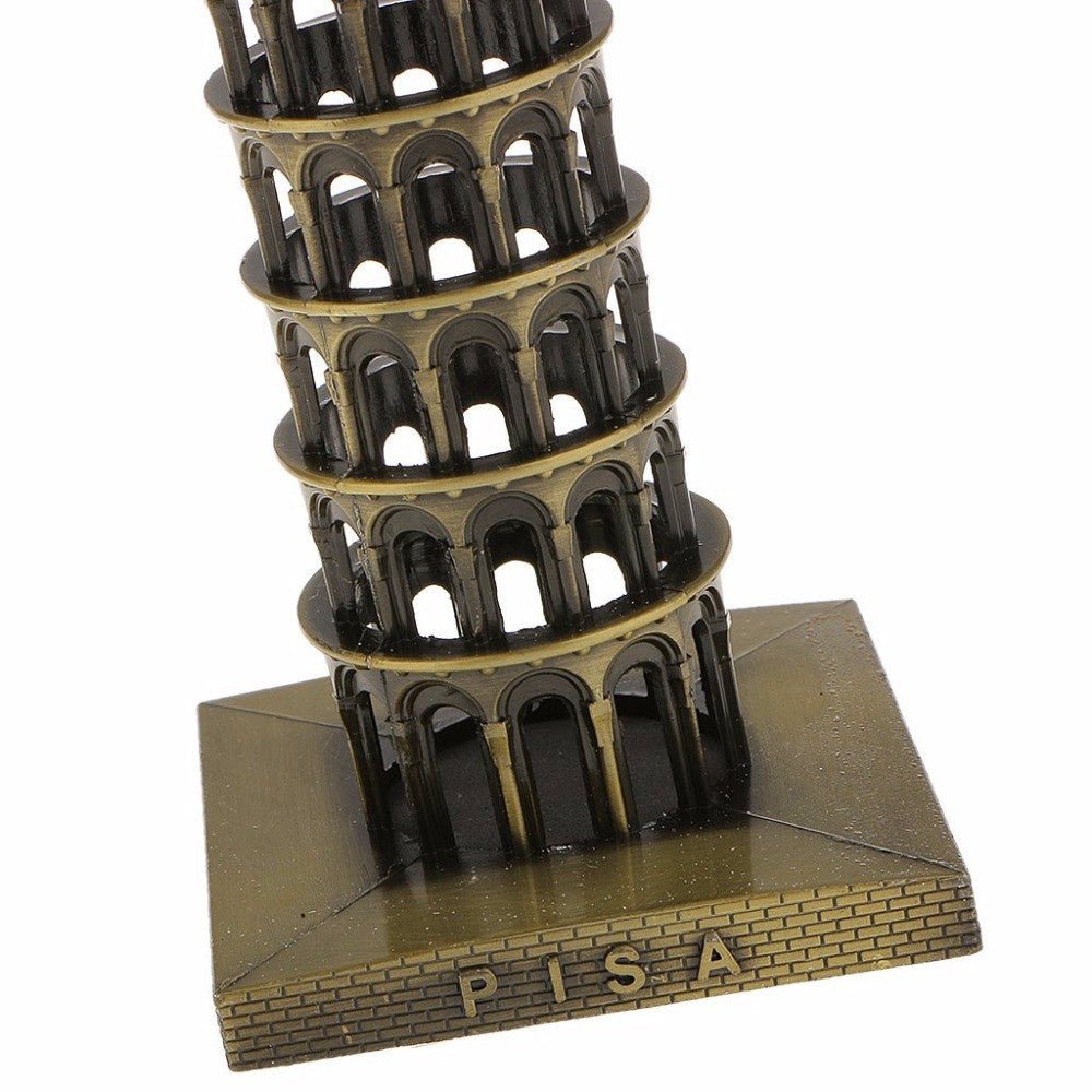 "NEO 16cm(6.3"")Retro Metal Italy The Leaning Tower of Pisa - antiques - 99fab.com"