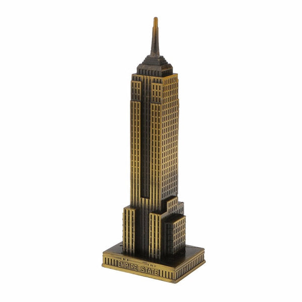 NEO Antique Bronze American Empire State Building - antiques - 99fab.com