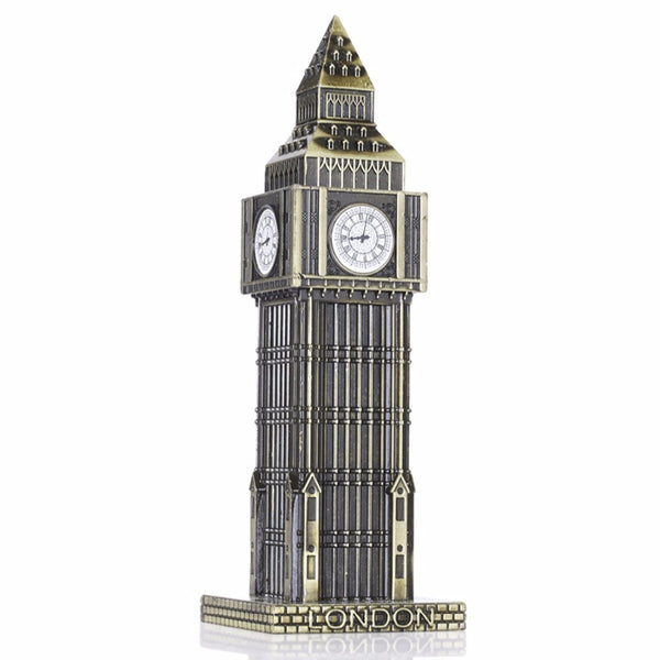 "NEO 15.5cm(6.1"") Antique Bronze Big Ben Statue London Landmark - antiques - 99fab.com"